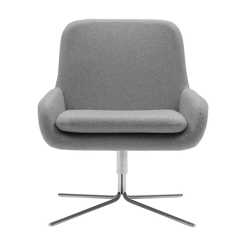 Coco Swivel by Softline, design busk+hertzog