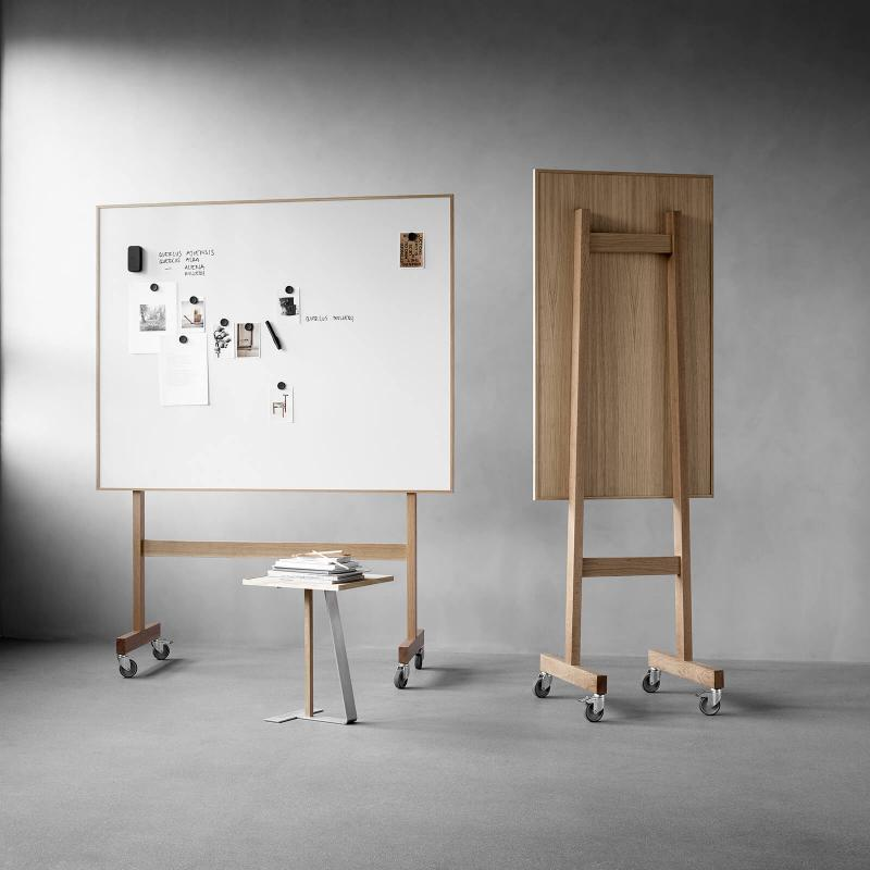 Wood Mobile Whiteboard kirjoitustaulut by Lintex, design Christian Halleröd