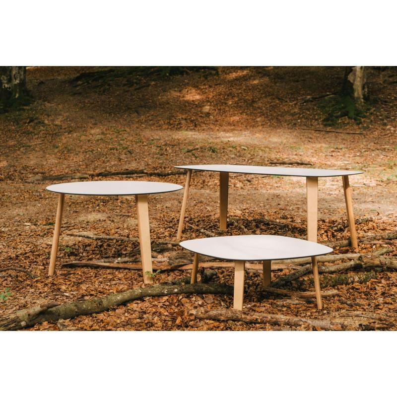 Lottus Wood Tables, Enea.